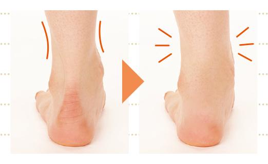 年齢とともに、脛の筋力が低下して、足首はどんどん太くなる!?