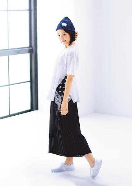 井上真央さんが、今気になるのは○○○シルエットなTシャツ! [with]