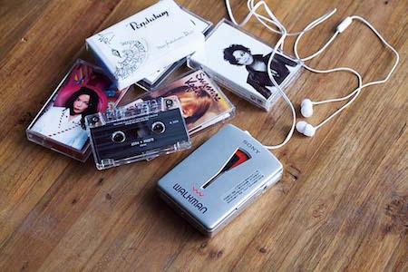 1.カセットで音を楽しむ。