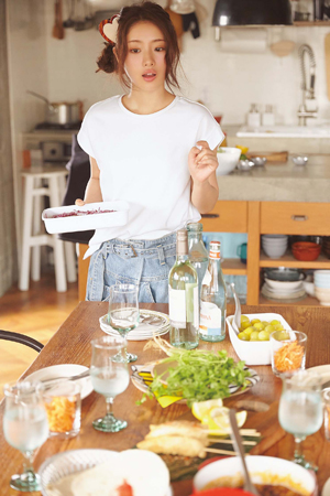 お料理上手の石原さとみ、お得意料理&お気に入りの食器を公開 [with]