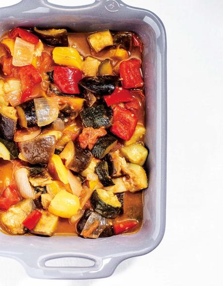簡単レシピ】トマトと夏野菜のパワーがつまった、カラフルラタトゥイユ [with]