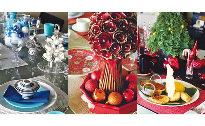 """クリスマスのテーブルを""""ご機嫌""""にするおもてなしアイデア [おとなスタイル]"""