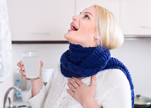 うがいで風邪・インフルエンザ予防