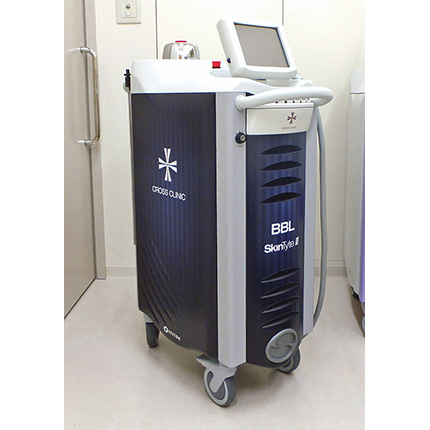 シミ治療に使われる代表的な機器