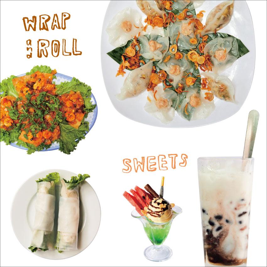 ベトナムで絶対食べたい「巻く料理」&「スイーツ」8選 [FRaU]