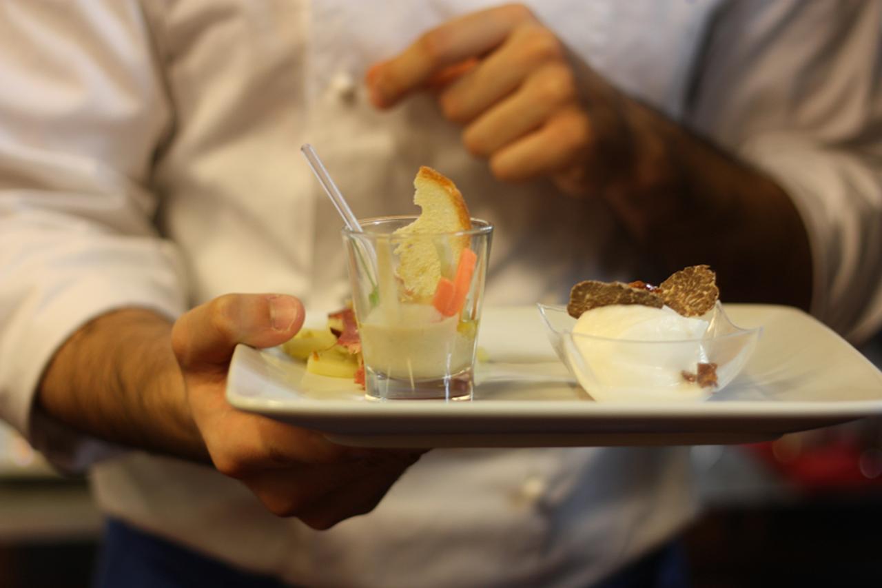 Pitti Taste期間中は 街中が食のお祭りなのです