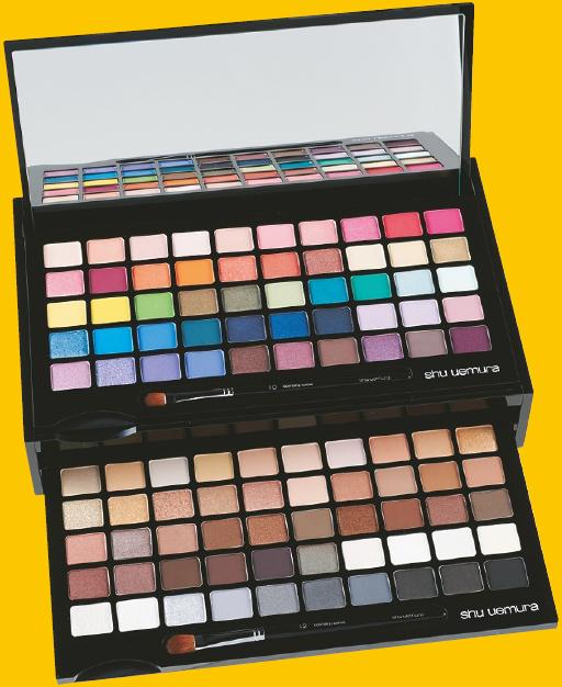 100 eyesyadow palette