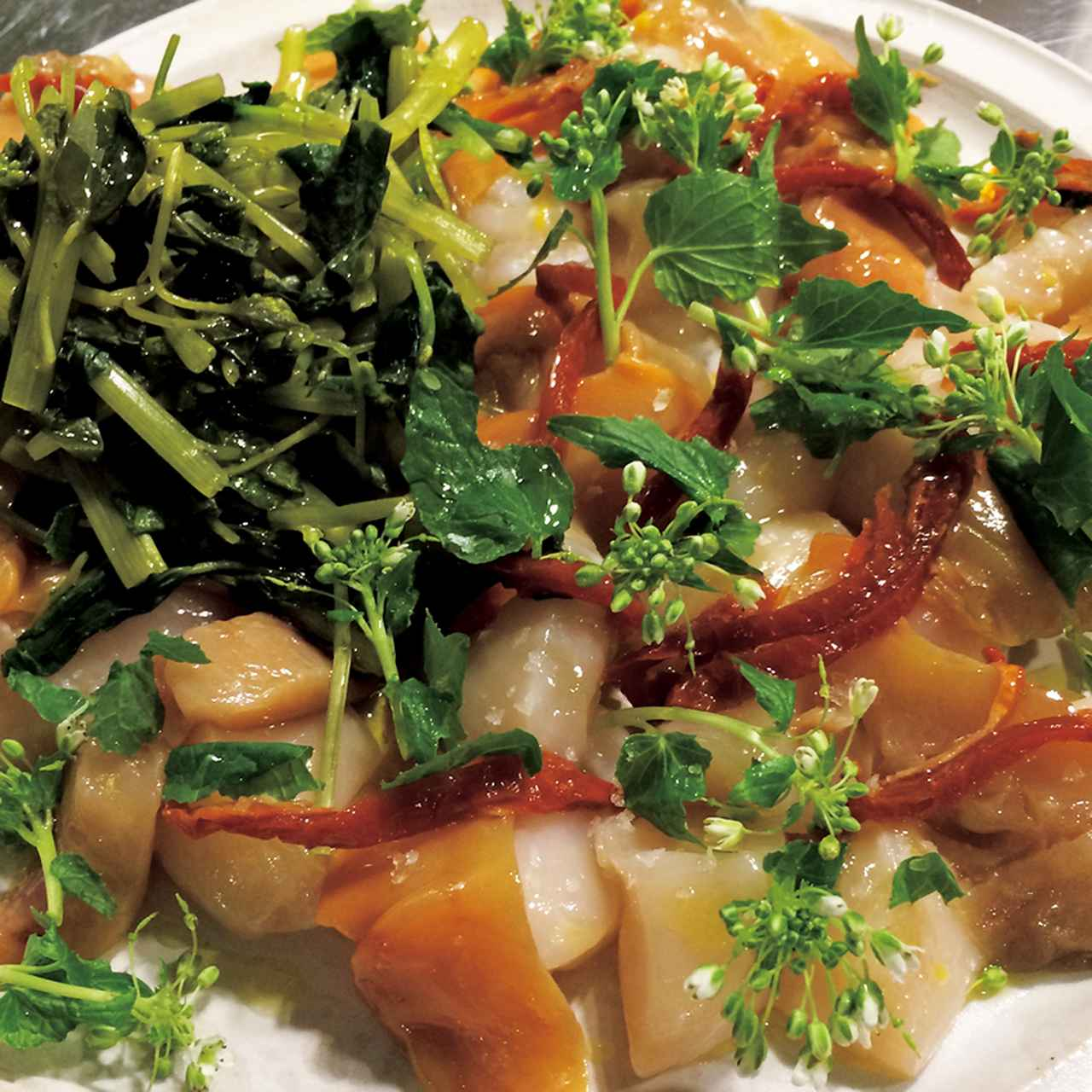 イタリアの伝統料理と世界各地の味をライブ感をもって提供する流しの出張料理人