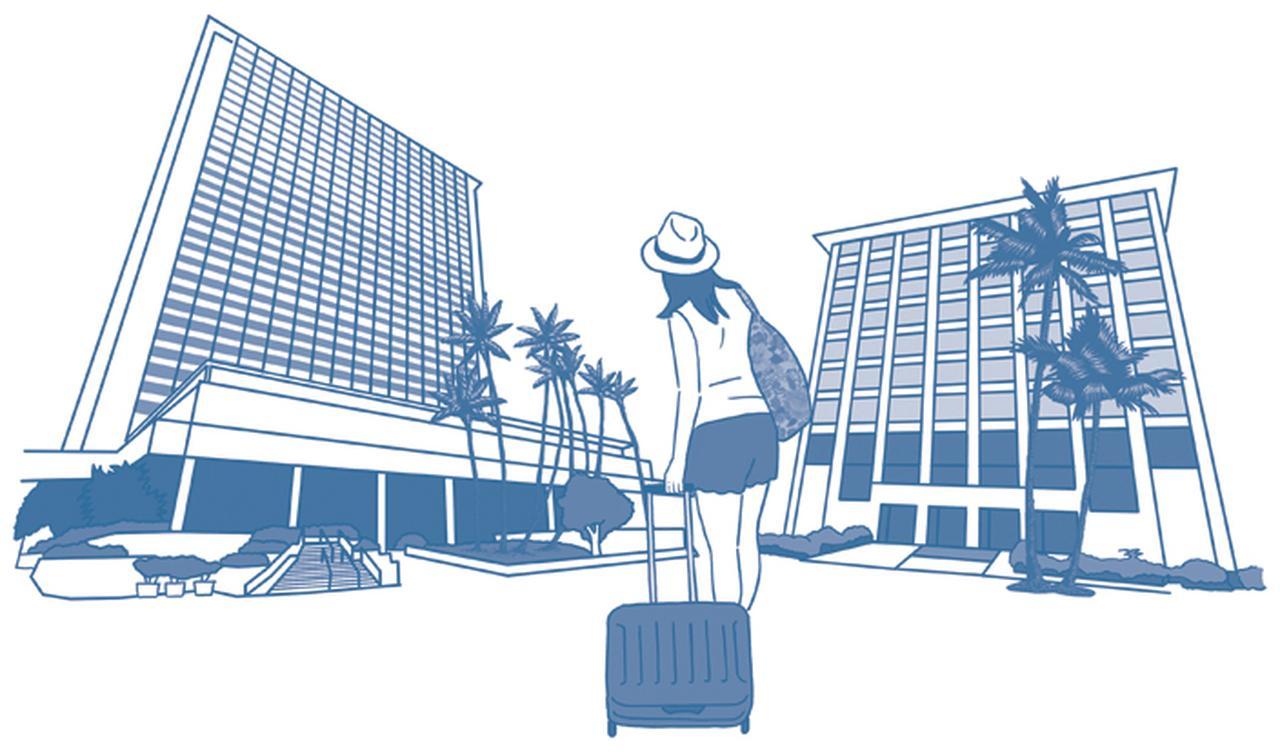 Q2. ホテルとコンドミニアムは どこが違う?