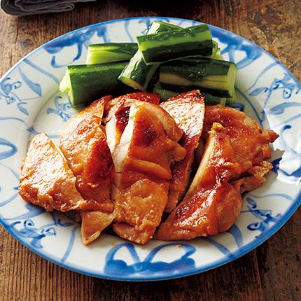 火を使わない照り焼きレシピ・堤人美さんの、鶏肉のレンジ照り焼き [おとなスタイル]