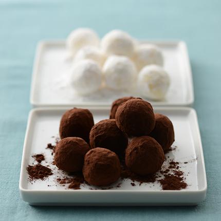 人気の荻田尚子さんが教える簡単手作りチョコレシピ「トリュフ 」 [おとなスタイル]