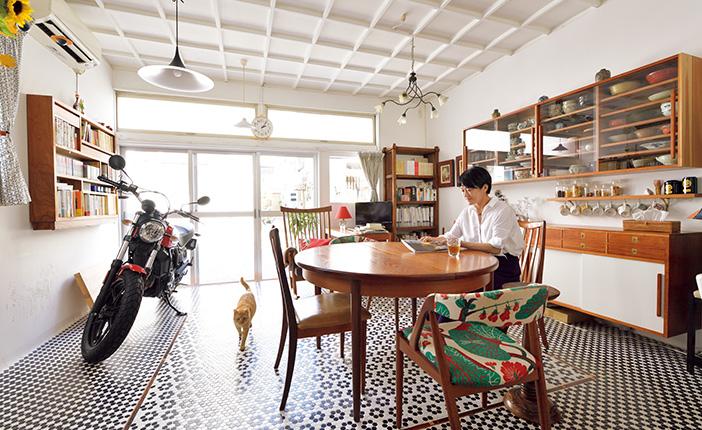 辰巳渚さん東京下町「小さな家の暮らし方」狭さを感じない秘密とは? [おとなスタイル]