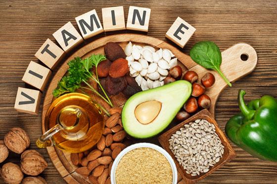 ビタミンEが多く含まれた食品って?