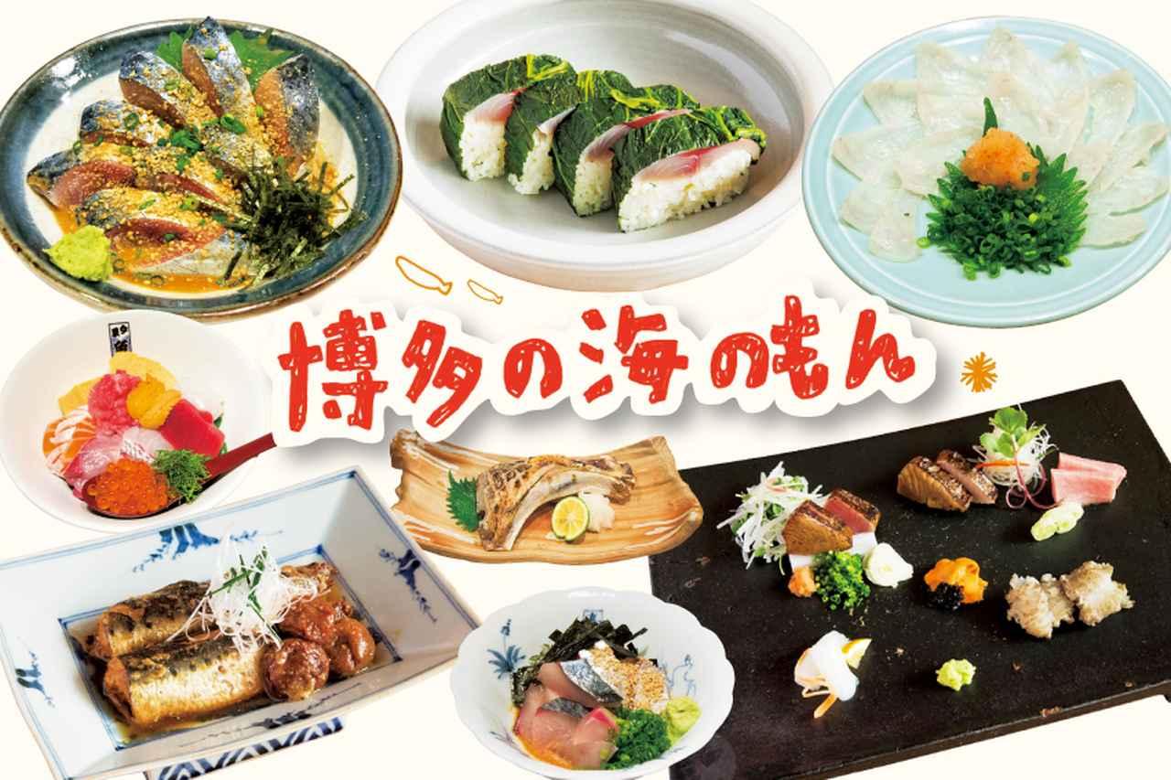 【福岡美食ガイド】安くておいしい、博多の海のもん [FRaU]