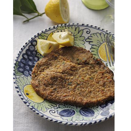 レストランにはないシチリア家庭料理「牛肉のカツレツ パレルモ風」 [おとなスタイル]