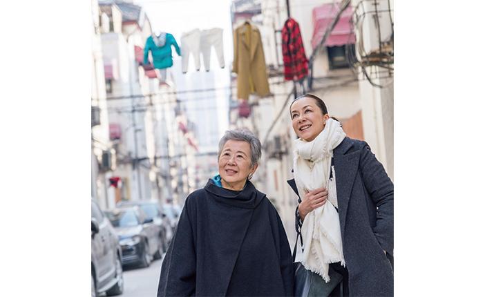 桐島洋子、かれん対談「毎日の暮らしが楽しいのが一番いい家庭」 [おとなスタイル]
