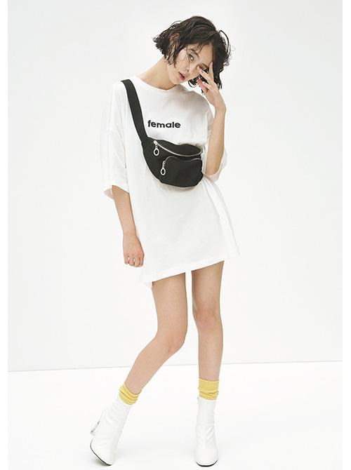 """この夏は""""白""""Tシャツを「スポーツ」に着たい!  [ViVi]"""