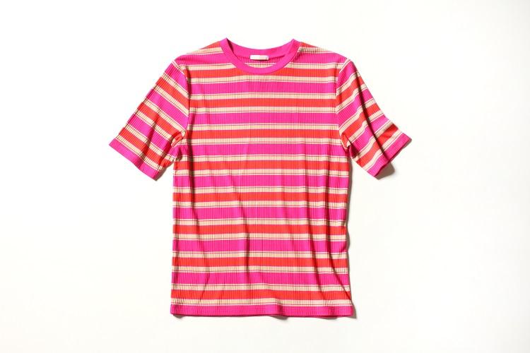 【Trend Item5】  マルチボーダーTシャツ