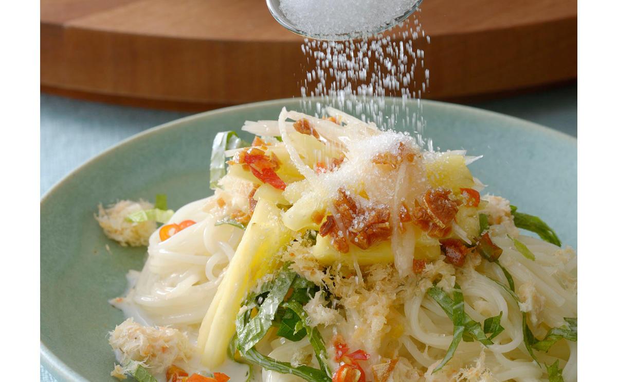 タイ料理でおもてなし「そうめんで作るカノム ジーン サオナーム」 [おとなスタイル]