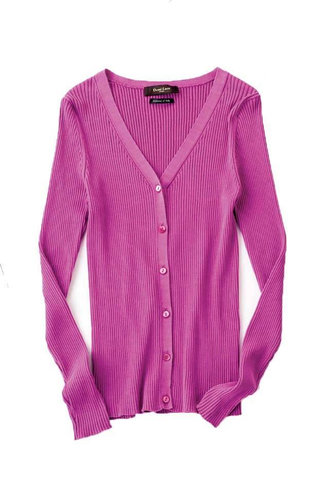 【item01】Demi-Luxe BEAMS▶毎年人気のカーデに、トレンド色が
