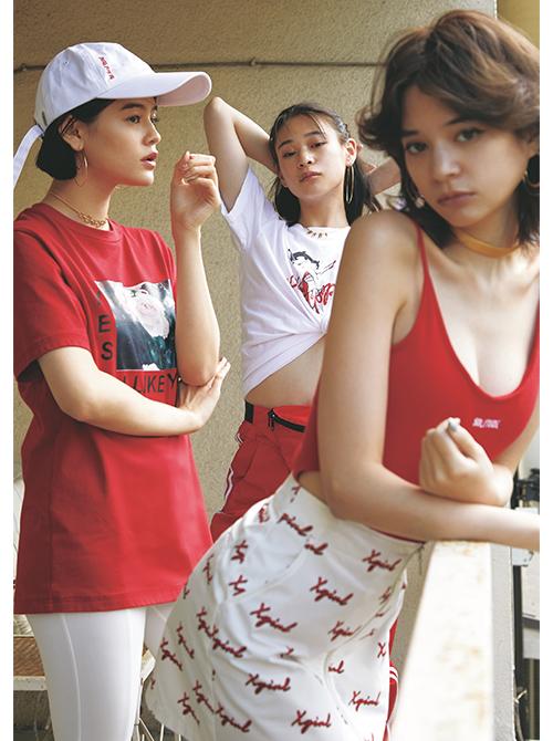 空前のヴィヴィッドカラーブーム!この夏、ジェンズ系女子は色コーデで攻める [ViVi]