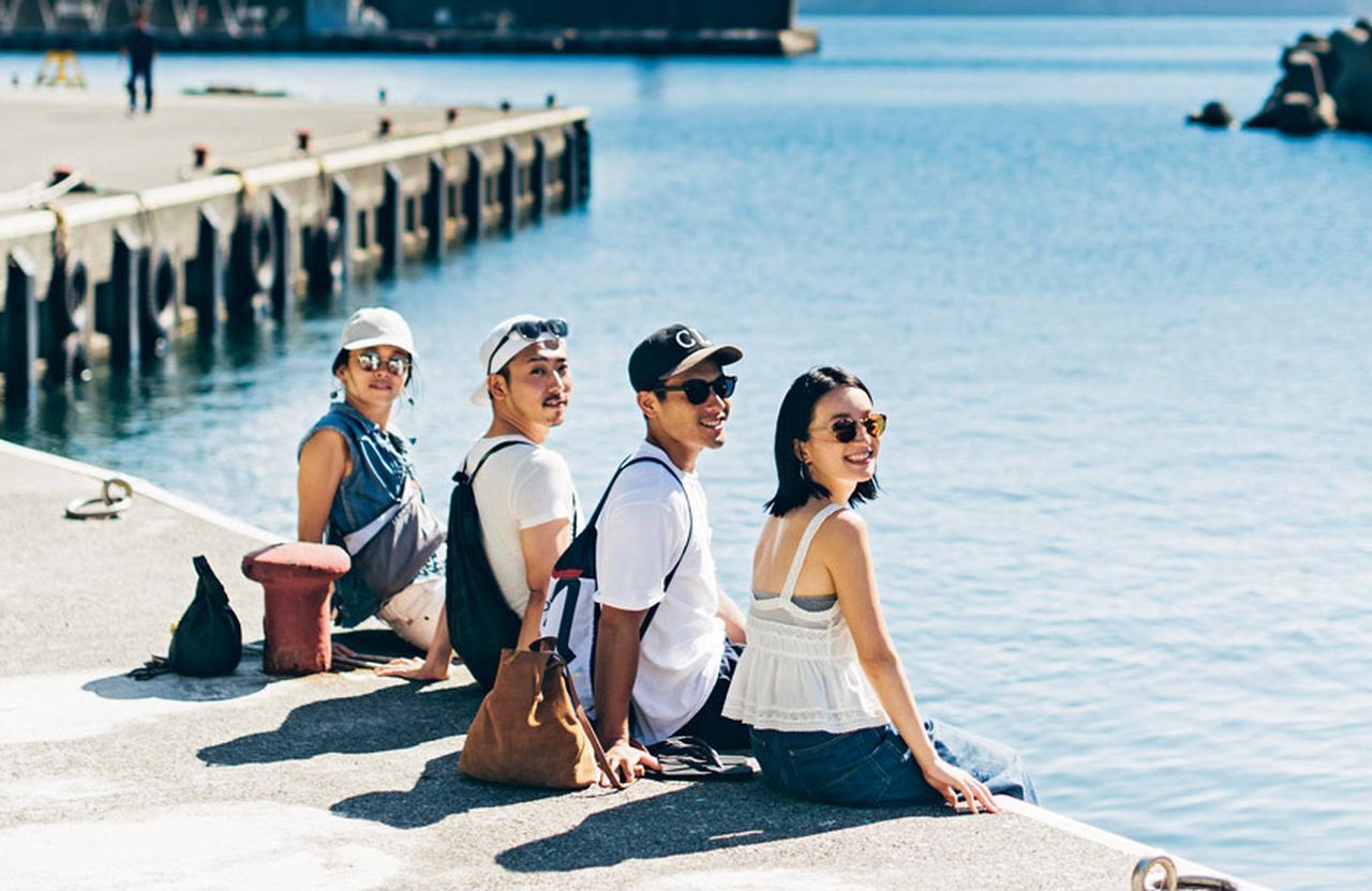 楽しいスポット目白押しの「新島」で大人の島旅を満喫 [FRaU]