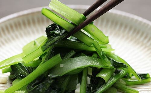 オススメ野菜その2 ほうれん草、小松菜