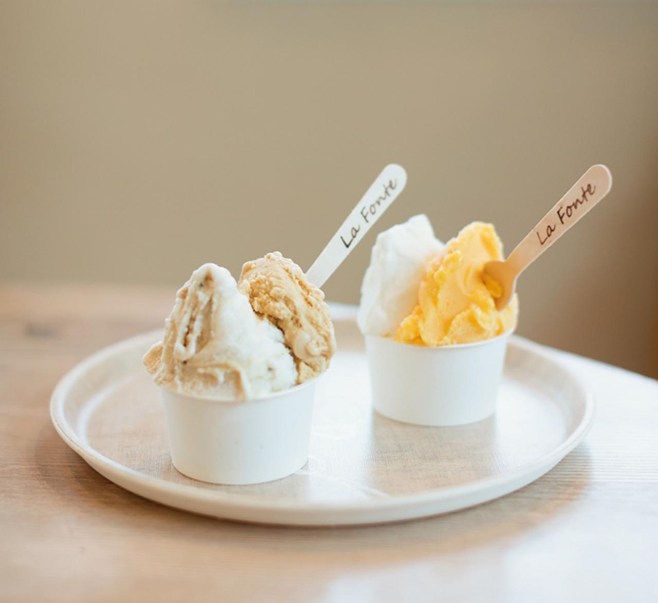 奄美の塩や黒糖焼酎など島ならではの島アイスを食べたい! [FRaU]