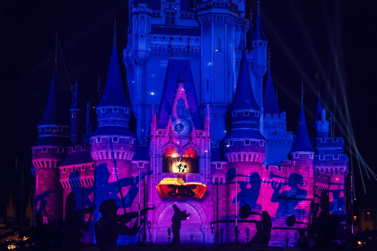 夜空を華やかに彩る東京ディズニーランドのエンターテイメントは必見 [FRaU]