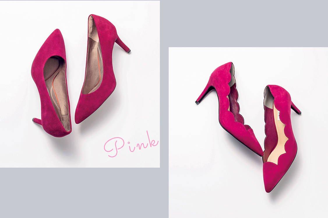 【Pink】こっくりピンクが大人可愛い