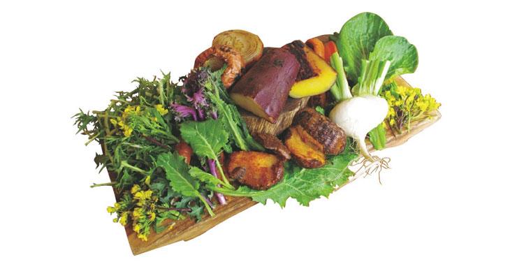 見た目も鮮やかなボリューム満点野菜