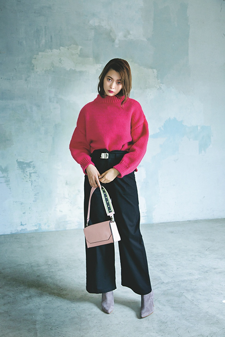 とにかくかわいいピンクが着たい!今年の秋はフューシャピンクが流行らしい  [ViVi]