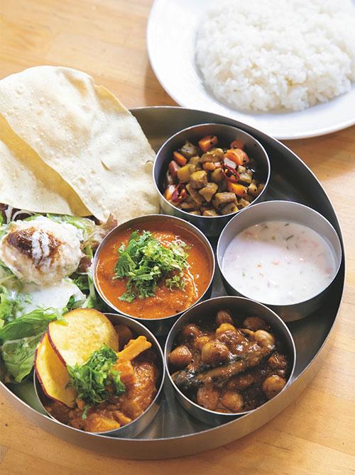 スパイスと素材だけで作る南インド料理