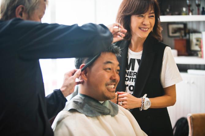ミドル世代のヘアスタイルは、ちょっとした差で顔まわりに大きな変化をプラス