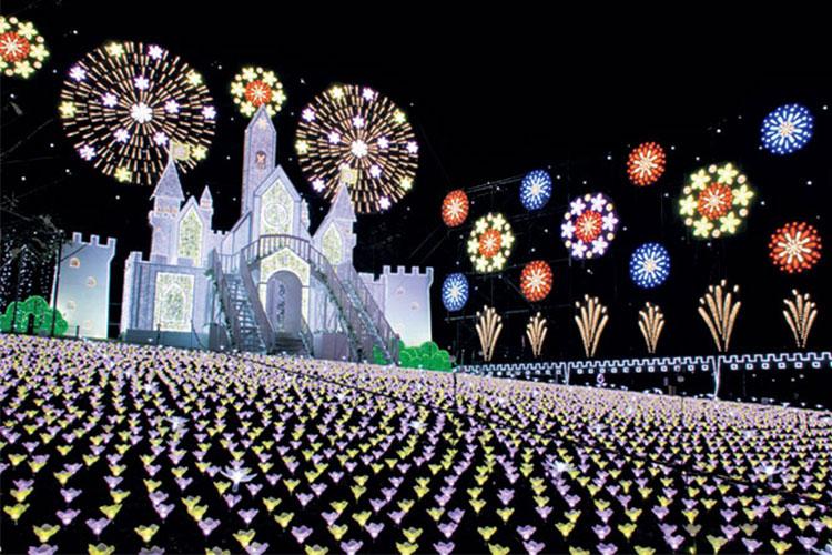 【栃木】あしかがフラワーパーク「光の花の庭」