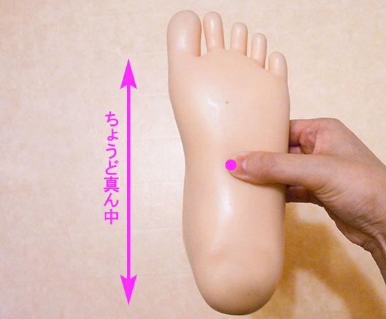乳がん対策の足ツボマッサージ